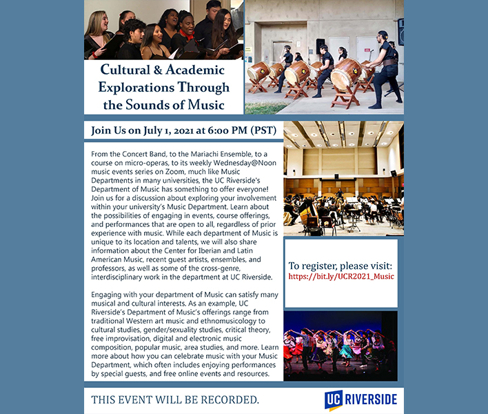 Cultural & Academic Explorations through the Sounds of Music